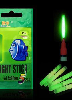 10/20/50pcs Light Night Float Rod Fishing Float Fluorescent Night Fishing Lights Dark Glow Stick Gear