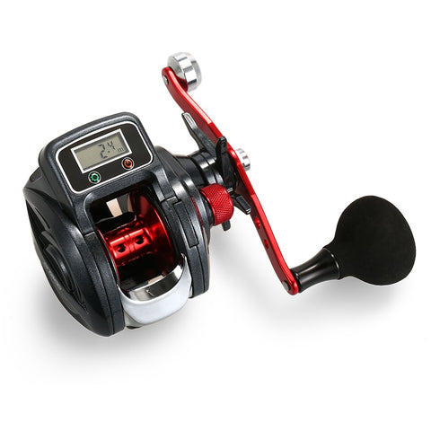 Digital Display Baitcasting Line Counter Reel