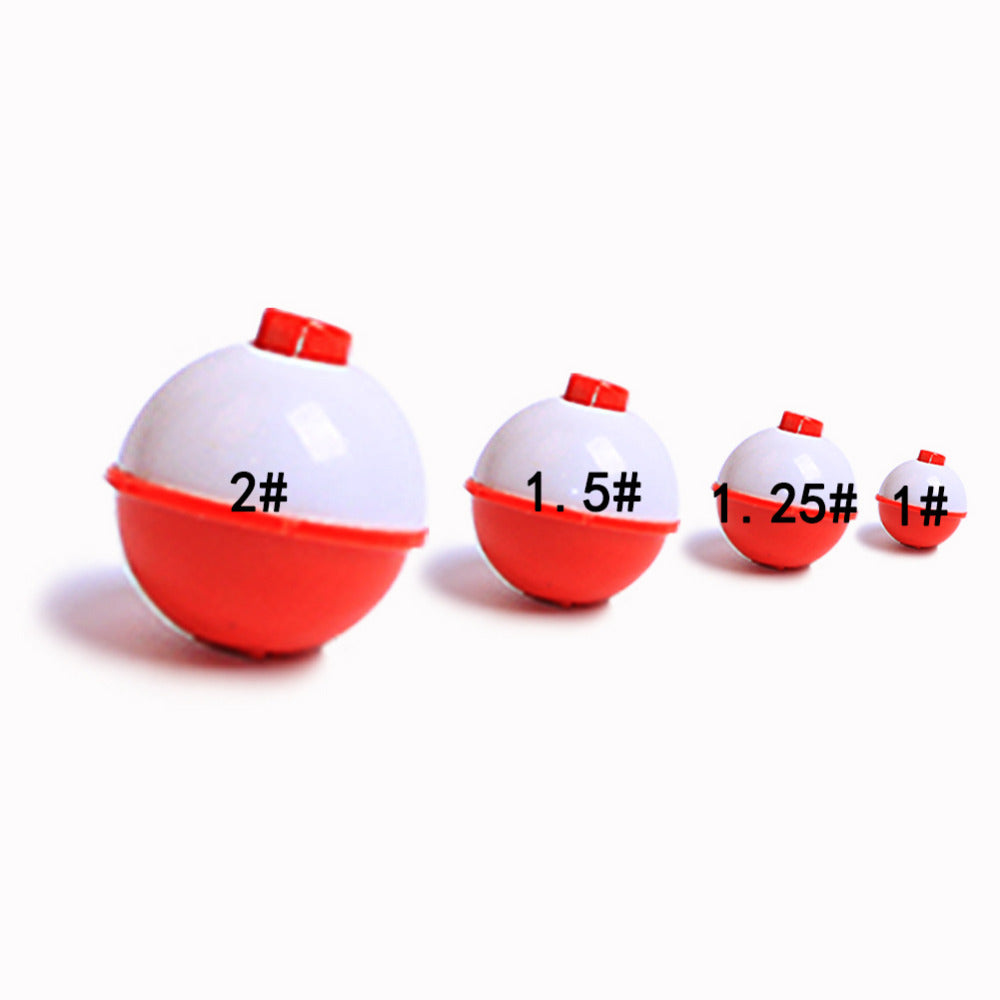 15pcs/lot 0.5-2inch Plastic Bobber Buoy fishing floating float for Sea Ocean Fishing Float tackle