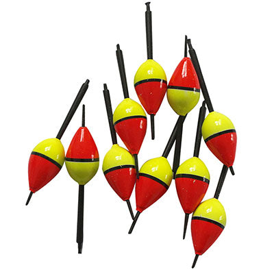 Fishing Tackle Accessories flotteur peche 10pcs/Lot Fishing Bobber Cork Float Yellow pesca Lighted Balsa Buoy Wood 1.5g/8.3 cm