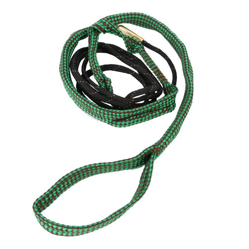 High Quality 22 Cal 5.56mm Green Bore Snake Rope  223 Caliber Gun Rifle Cleaning Cord Kit Accessories 43bp H5