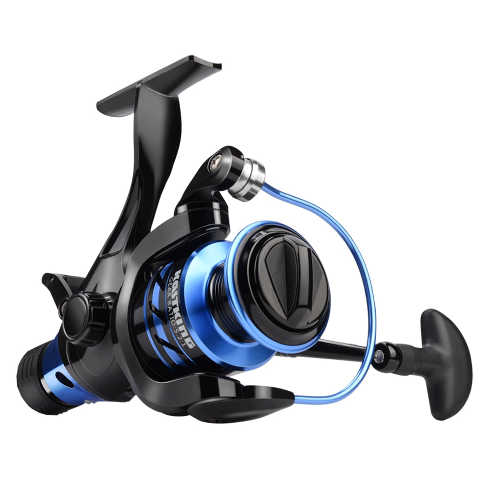 KastKing Pontus 9KG Max Drag Power Baitfeeder Spinning Reel Dual Stopping System Bass Fishing Reel Sea Lake River Fishing Tackle