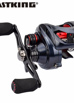 KastKing Spartacus Maximus 11 Ball Bearings Fishing Reels 6.3:1 Baitcasting Reel 1.33KG Max Drag Power Fishing Reels Sea Fishing