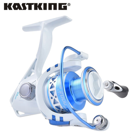 KastKing Summer Series Carp Fishing Spinning Reels 9 +1 BB Light Weight Max Drag 9KG Fishing Wheel Fishing Tackle Dropship