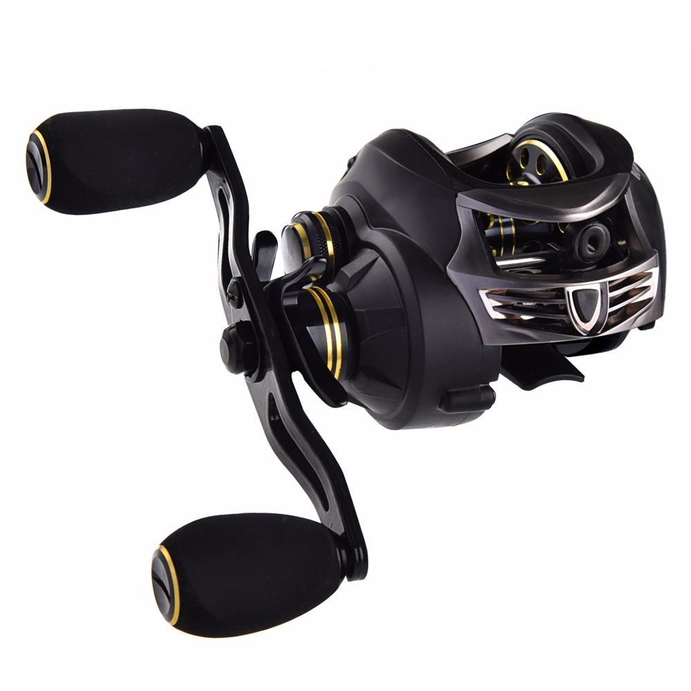 Super Light Carbon Body 169.5g 7.0:1 Fresh/Salt Water Baitcasting Fishing Reel