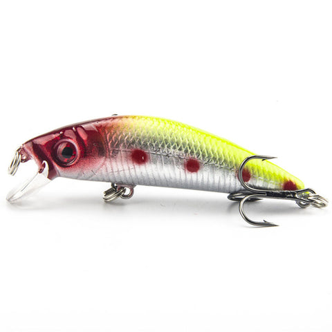 1PCS Brand Lifelike Minnow Fishing Lure