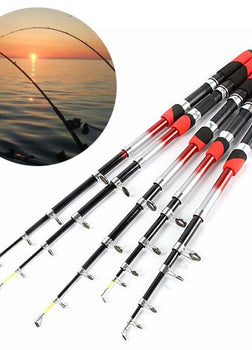 1.8M 2.1M 2.4M 2.7M 3.0M 3.6M 4.5M Portable Telescopic Fishing Rod