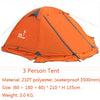 Image of Hunting 2 Persons 3 Double Layer Windproof Waterproof Winter Professional Tent