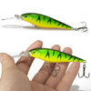 Image of 1PCS Colorful Stripe Pattern 11cm 10.5g Hard Bait Minnow streak Fishing lures