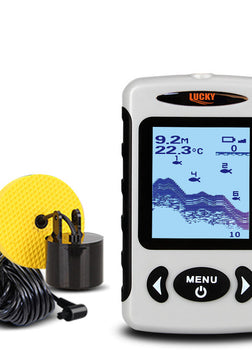 Portable Sonar Wired LCD Fish depth Finder Alarm