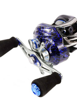 New arrival 14+1BB Ball Bearings Carp Fishing Reel High Speed Bait casting Pesca 6.3:1 Spinning Wheel right/left hand