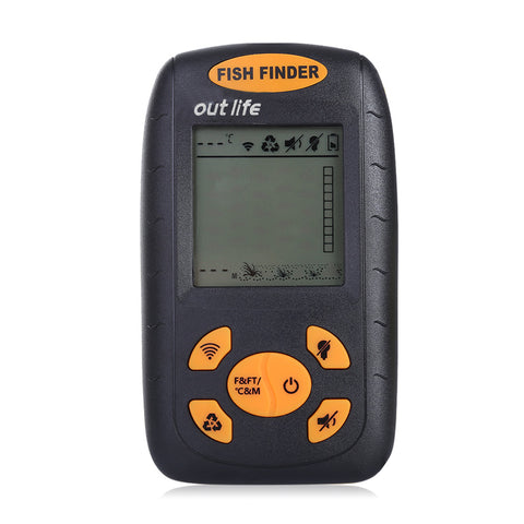 100M Portable Sonar LCD Fish Finder