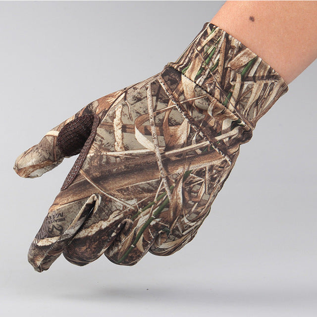 New Hunting Reed Camouflage Gloves