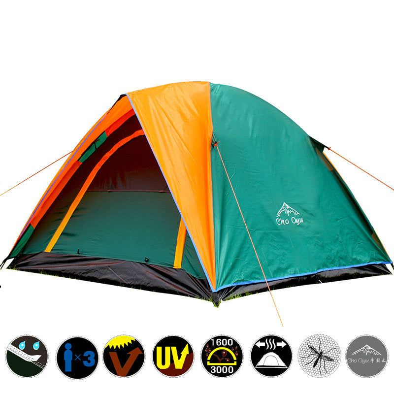 2018 Best Seller Double Layer 3 4 Person Rainproof Tent
