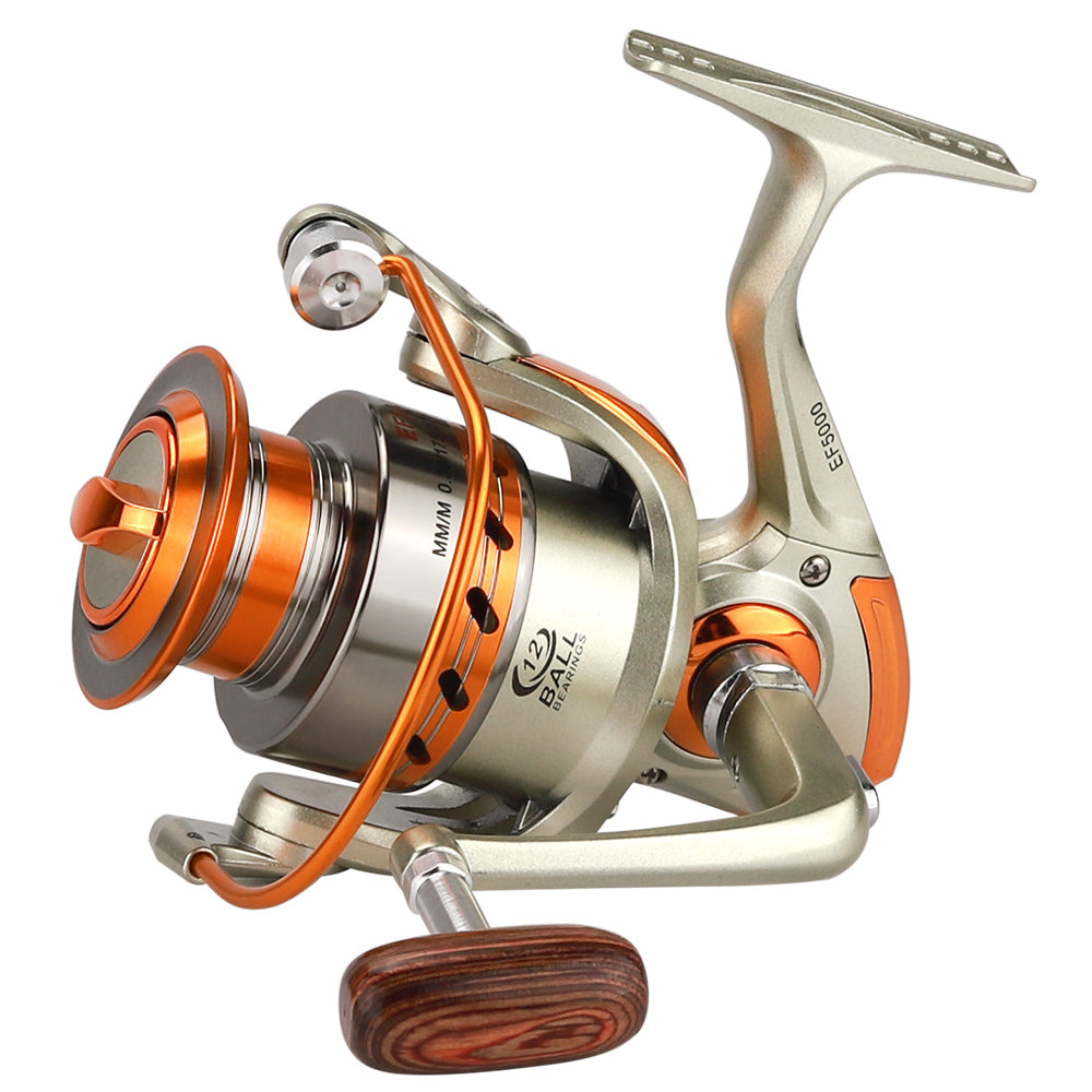 500 - 9000 Series Metal Superior Spinning Fishing Reel
