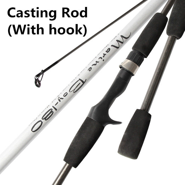 2 tip 1.8M Spinning Fishing Rod