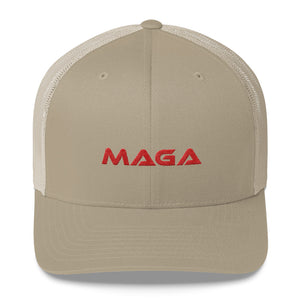 Red MAGA Trucker Cap