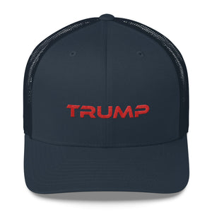 Red Trump Trucker Cap