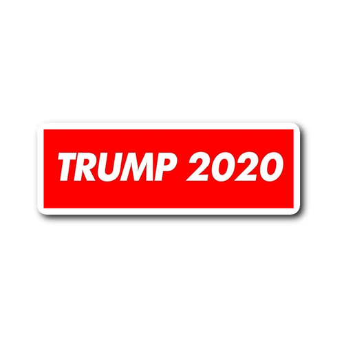 Supreme Trump 2020 Sticker