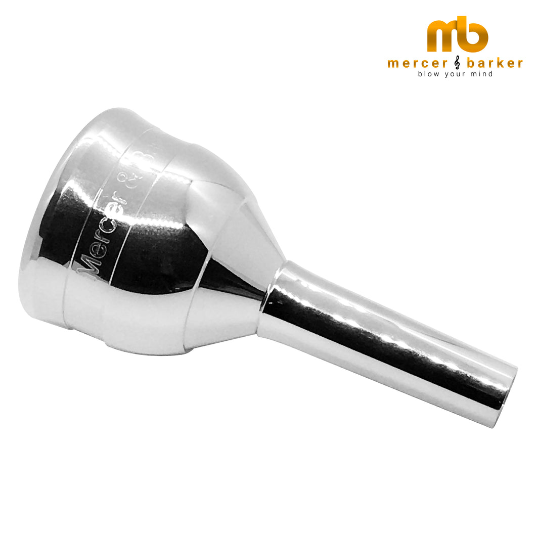 Mercer and Barker MB4 Tuba Mouthpiece