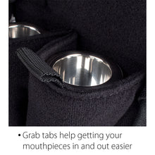 Load image into Gallery viewer, Euphonium/Baritone Double Mouthpiece Pouch