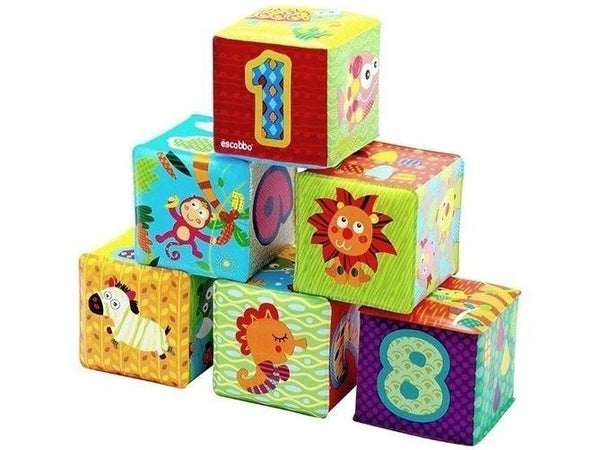 Escabbo Bath Soft Number Cubes