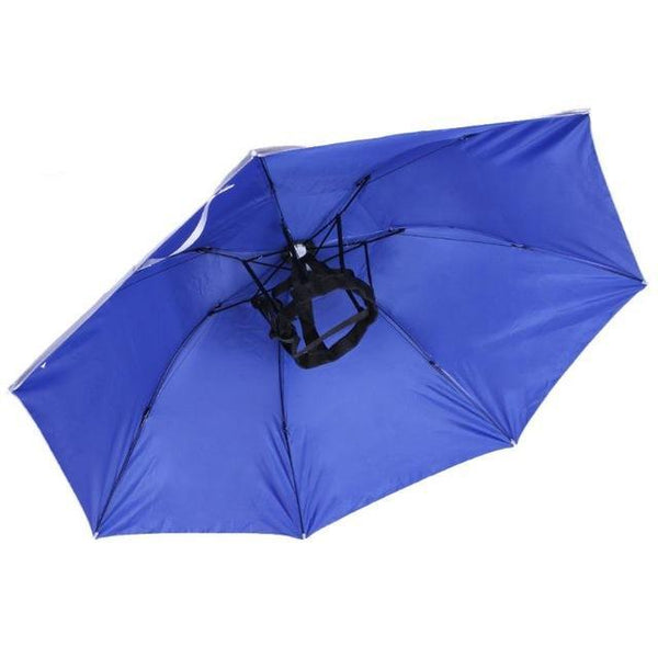 Foldable Umbrella Hat