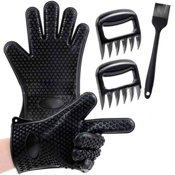 Barbecue Cooking Grill Glove  Set