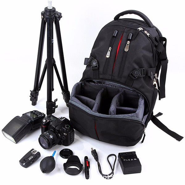 Professional Backpack Camera Bag Photography Package