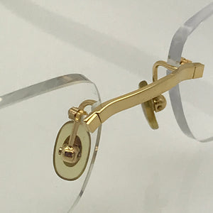 Cartier Rimless Gold Woods