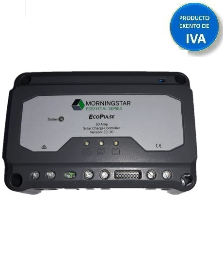 Controlador EcoPulse Morningstar 30AMP 12/24V