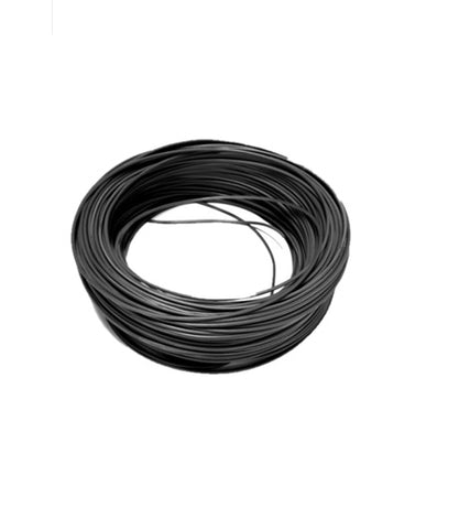 CABLE SOLAR 6MM COLOR NEGRO.