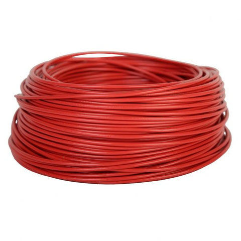 Cable solar 4MM Color Rojo