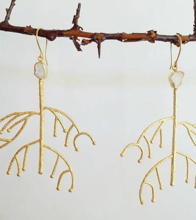 Root Earrings
