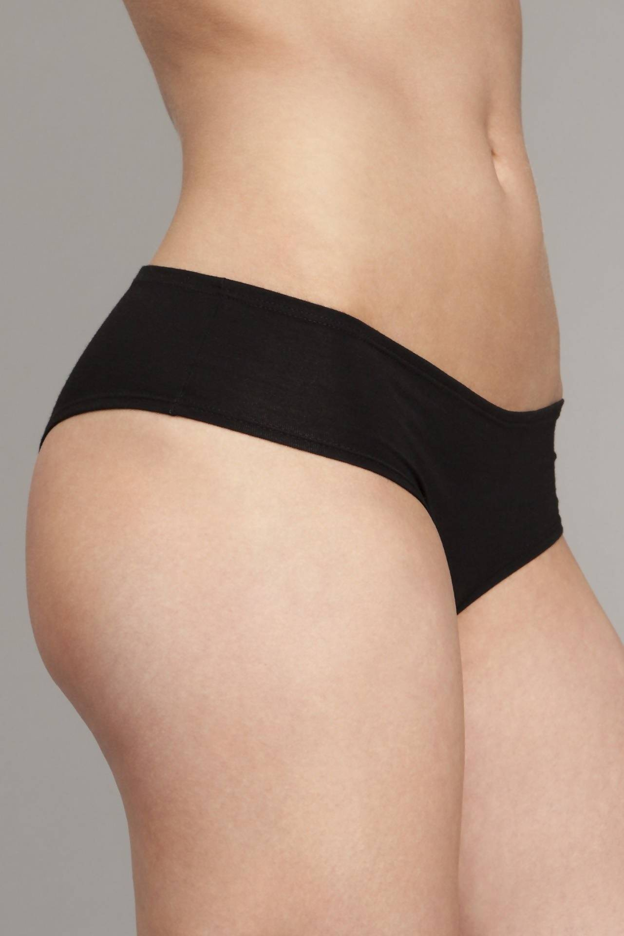 The Kyle- Classic Boyshort in Black