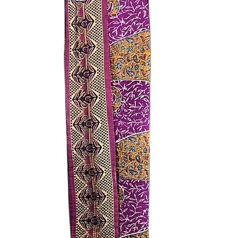 Kantha Throw Quilt - Fuchsia Paisley