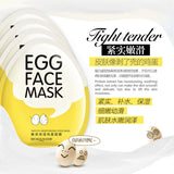 jw08 K Beauty BIOAQUA Egg Facial Mask Smooth Moisturizing Face Mask Oil Control Shrink Pores Whitening Brighten Mask
