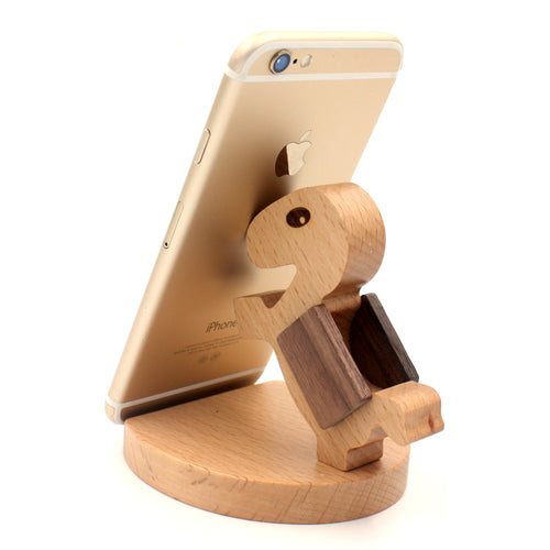 Engadgetry Bamboo Turtle Smartphone Stand