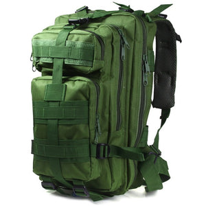 jw08 Tactical Oxford Camouflage Backpack for Outdoor Sports