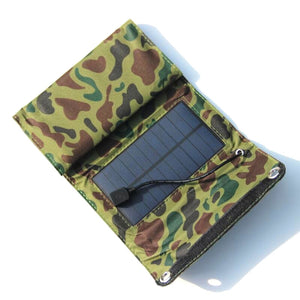 Engadgetry Camouflage Foldable Solar Power Multi-Panels Charger