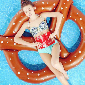 Engadgetry Pretzel Swim Pool Inflatable Floats