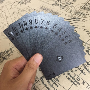 jw08 Waterproof and Greasy Fingers Proof Embossed Poker Cards