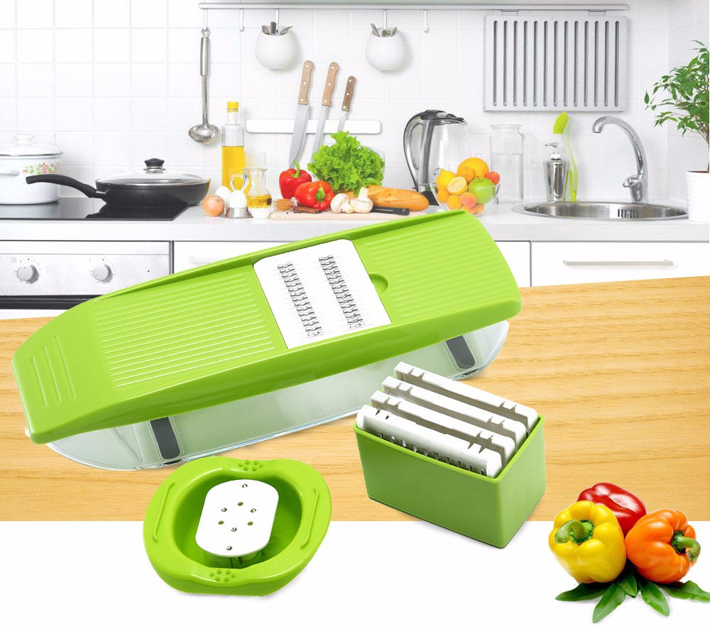 jw08 Multipurpose Vegetable Slicer, Grater, Cutter & Zester