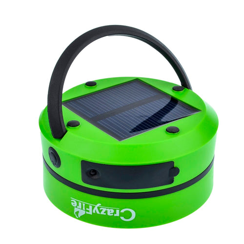 jw08 Solar Powered LED Camping Light, Flashlight, and USB Charger