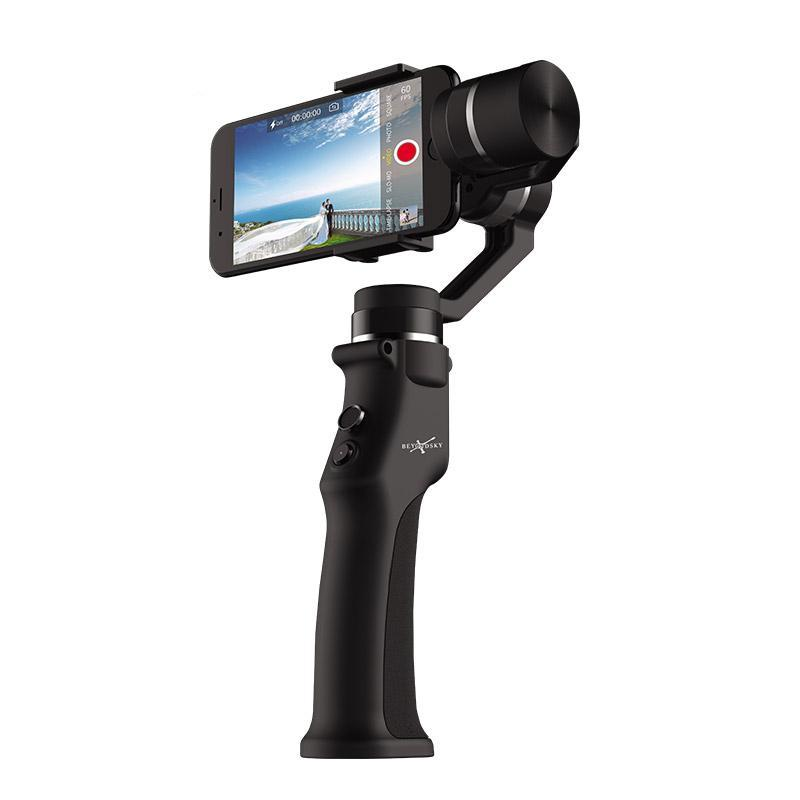 jw08 Eyemind Smartphone Handheld Gimbal 3-Axis Selfie Stick Stabilizer for Action