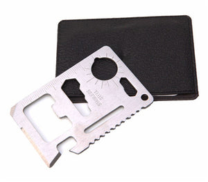 jw08 Stainless Steel Multi-Functional 11-in-1 Smart Card