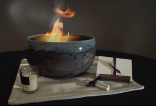 Saturday, January 4 - Burning Bowl Meditation