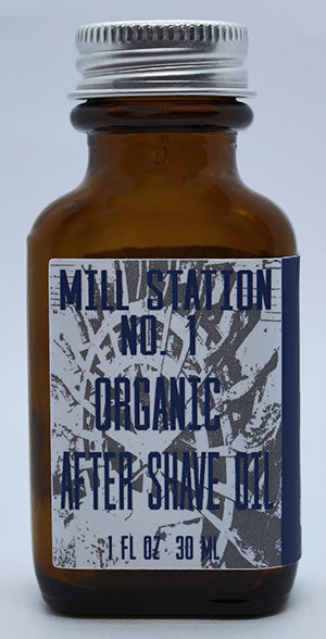 Mill Station No. 1 Organic After Shave Oil