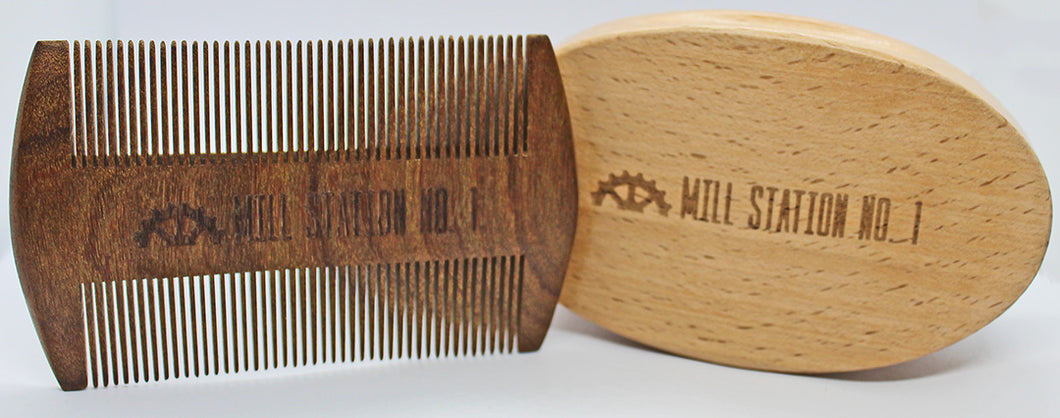 Beard Brush and Comb set