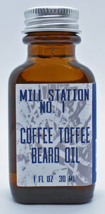 Coffee Toffee Organic Beard Oil
